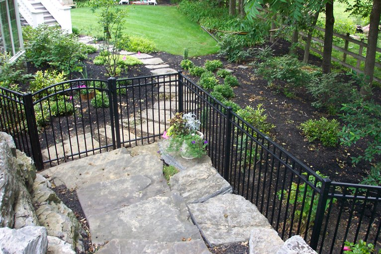 Ornamental aluminum iron fences cardinal fence