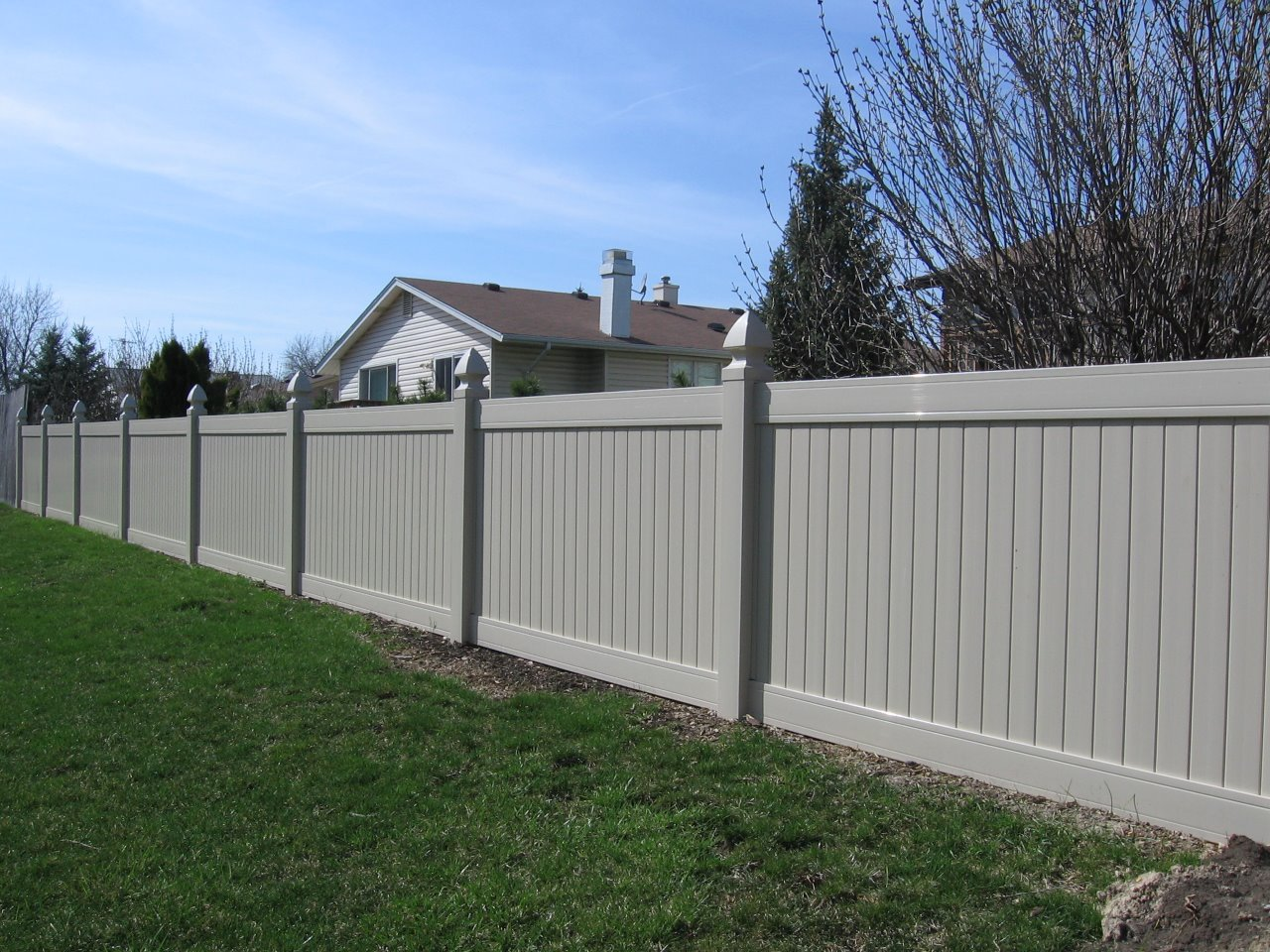 Privacy Fence Vinyl Cardinal Fence Supply Inc