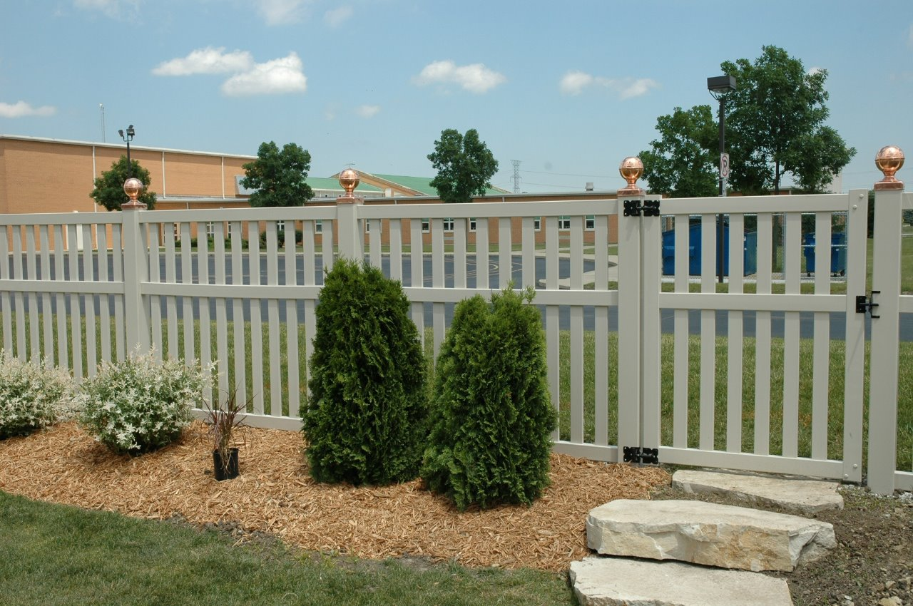 White vinyl fence cardinal supply inc