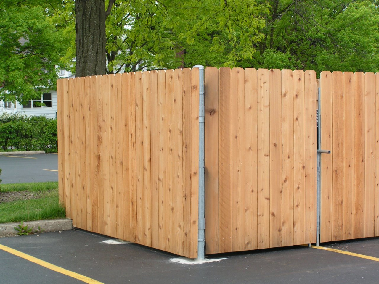 Commercial Trash Enclosure Cardinal Fence Amp Supply Inc