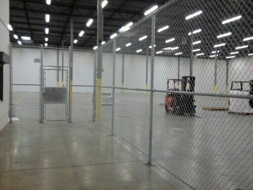 Warehouse Chain Link Fence Cardinal Fence Amp Supply Inc